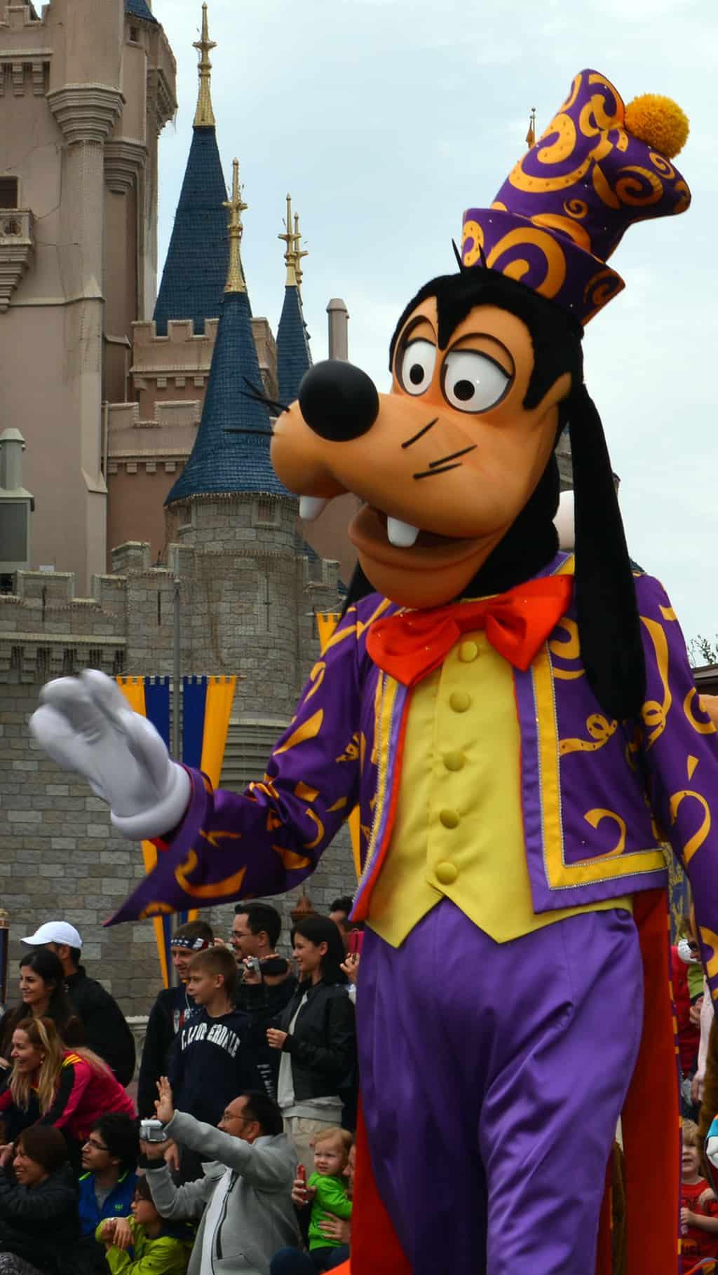 Walt Disney World, Magic Kingdom, Celebrate a Dream Come True Parade, Goofy
