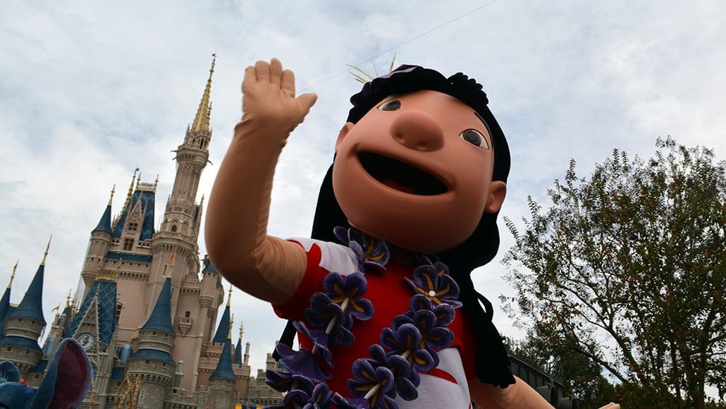 Walt Disney World, Magic Kingdom, Celebrate a Dream Come True Parade, Lilo