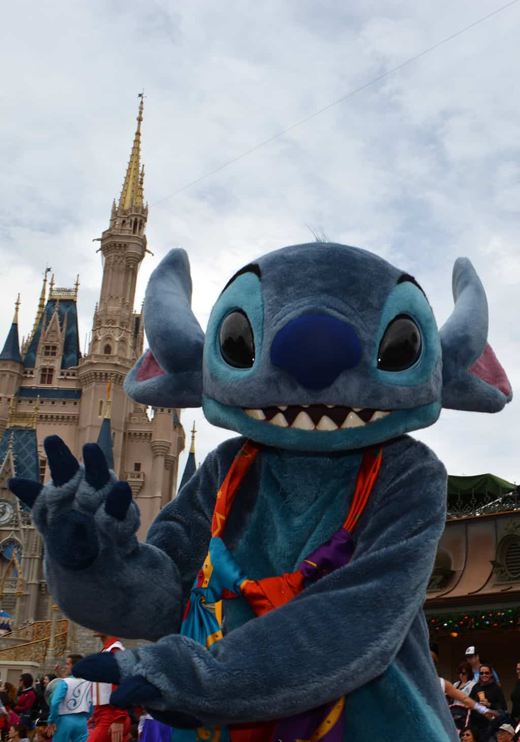 Walt Disney World, Magic Kingdom, Celebrate a Dream Come True Parade, Stitch