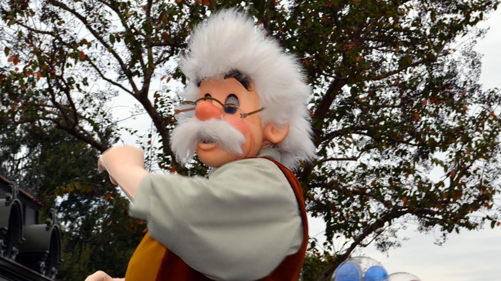 Walt Disney World, Magic Kingdom, Celebrate a Dream Come True Parade, Gepetto