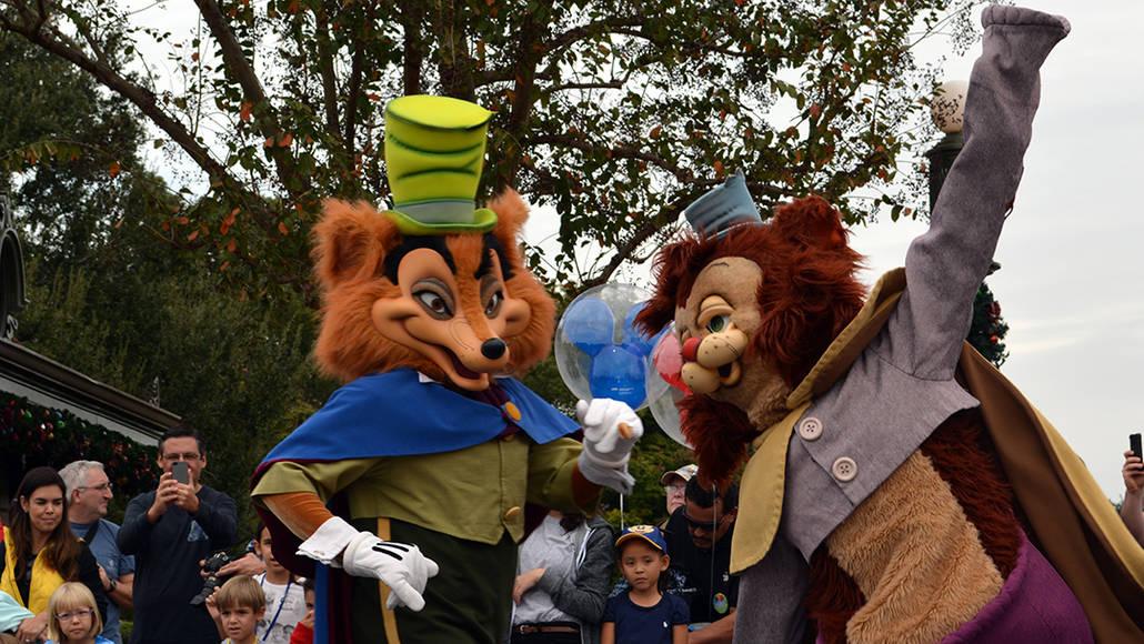 Walt Disney World, Magic Kingdom, Celebrate a Dream Come True Parade, Foulfellow, Gideon
