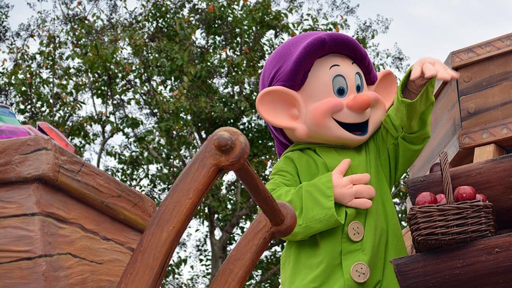 Walt Disney World, Magic Kingdom, Celebrate a Dream Come True Parade, Dopey