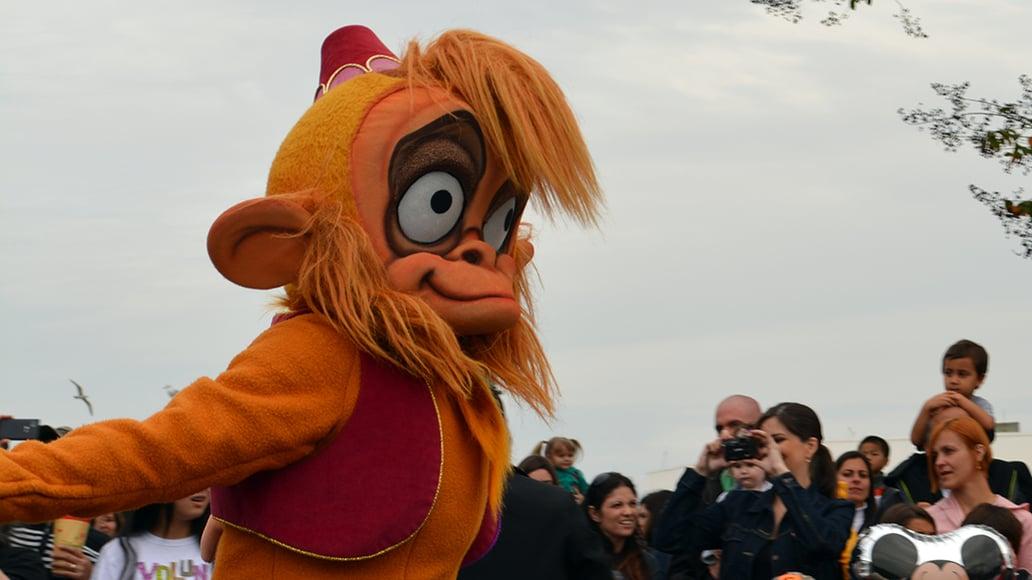 Walt Disney World, Magic Kingdom, Celebrate a Dream Come True Parade, Abu
