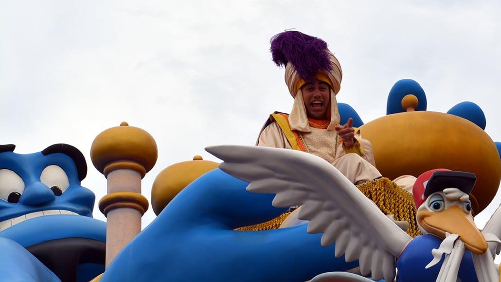 Walt Disney World, Magic Kingdom, Celebrate a Dream Come True Parade, Aladdin