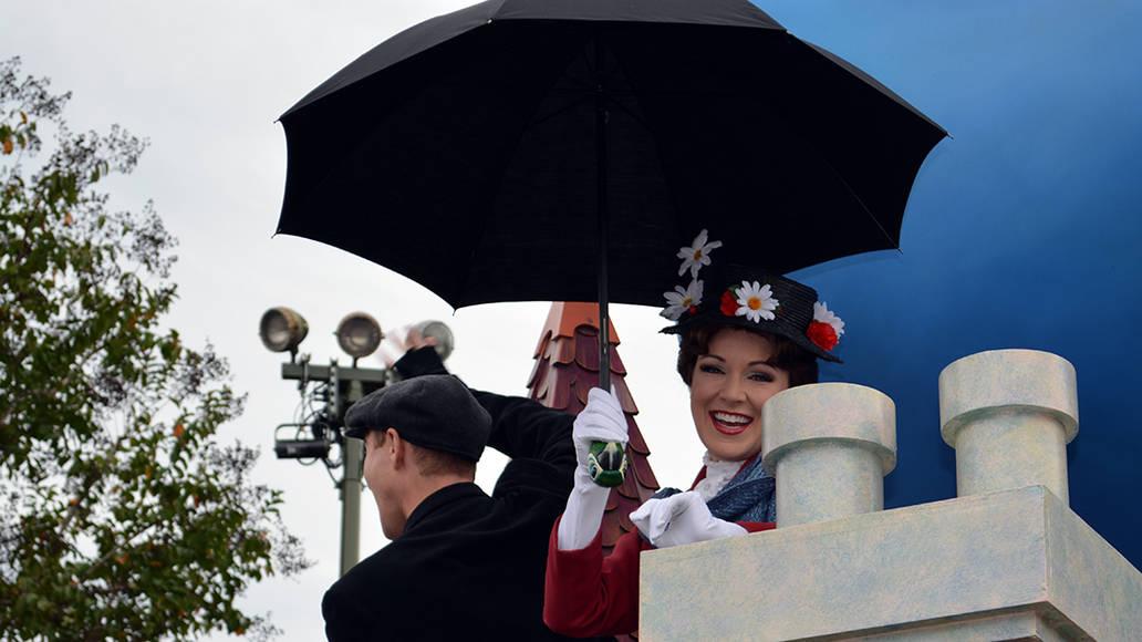 Walt Disney World, Magic Kingdom, Celebrate a Dream Come True Parade, Mary Poppins, Bert