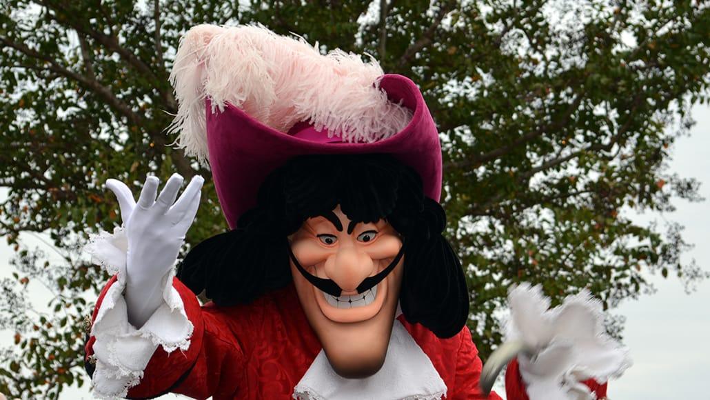 Walt Disney World, Magic Kingdom, Celebrate a Dream Come True Parade, Captain Hook