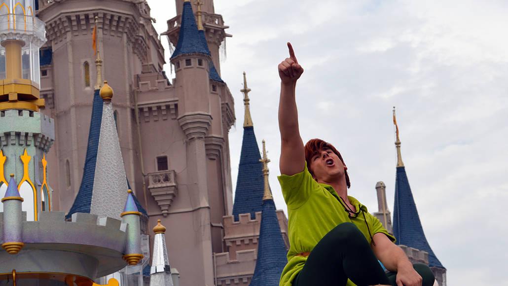 Walt Disney World, Magic Kingdom, Celebrate a Dream Come True Parade, Peter Pan