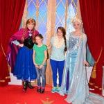 Walt Disney World, Epcot, Norway, Anna and Elsa meet and greet