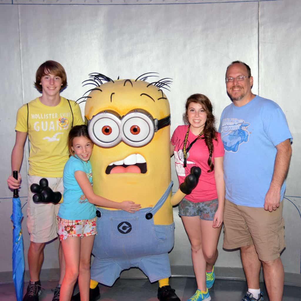Universal Orlando, Universal Studios Florida, Minion Bob, Meet and Greet