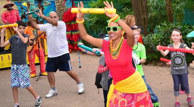 Walt Disney World, Animal Kingdom, Viva Gaia Street Band
