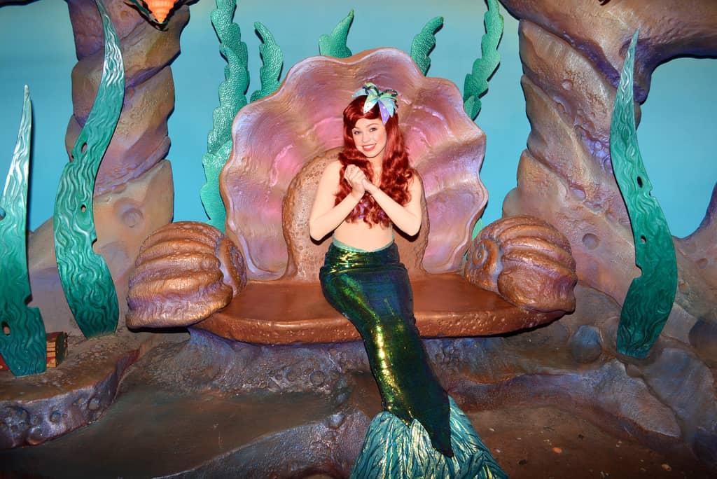 Walt Disney World, Magic Kingdom, Characters, Valentines Day, Ariel