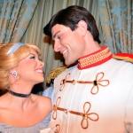 Walt Disney World, Magic Kingdom, Characters, Valentines Day, Cinderella and Prince Charming