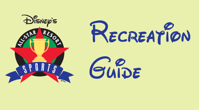 All Star Sports Recreation Activity Guide