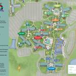 All Star Movies Resort Map
