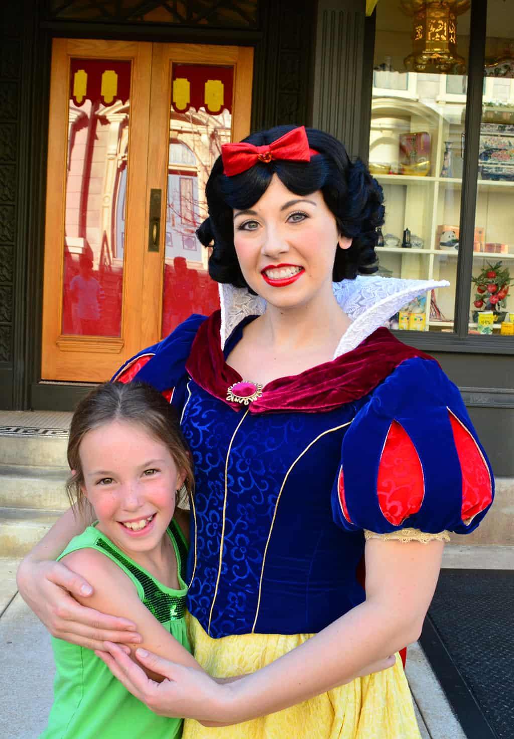 Character Palooza Schedule, Character Palooza at Hollywood Studios, Character Palooza at Disney World, snow white