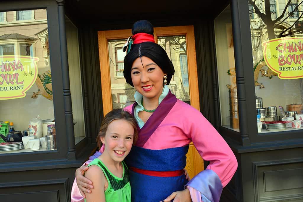 Character Palooza Schedule, Character Palooza at Hollywood Studios, Character Palooza at Disney World, mulan
