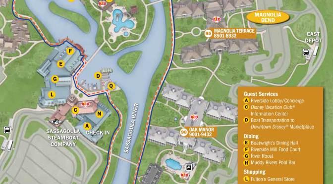 Port Orleans French Quarter Resort Map | KennythePirate.com on