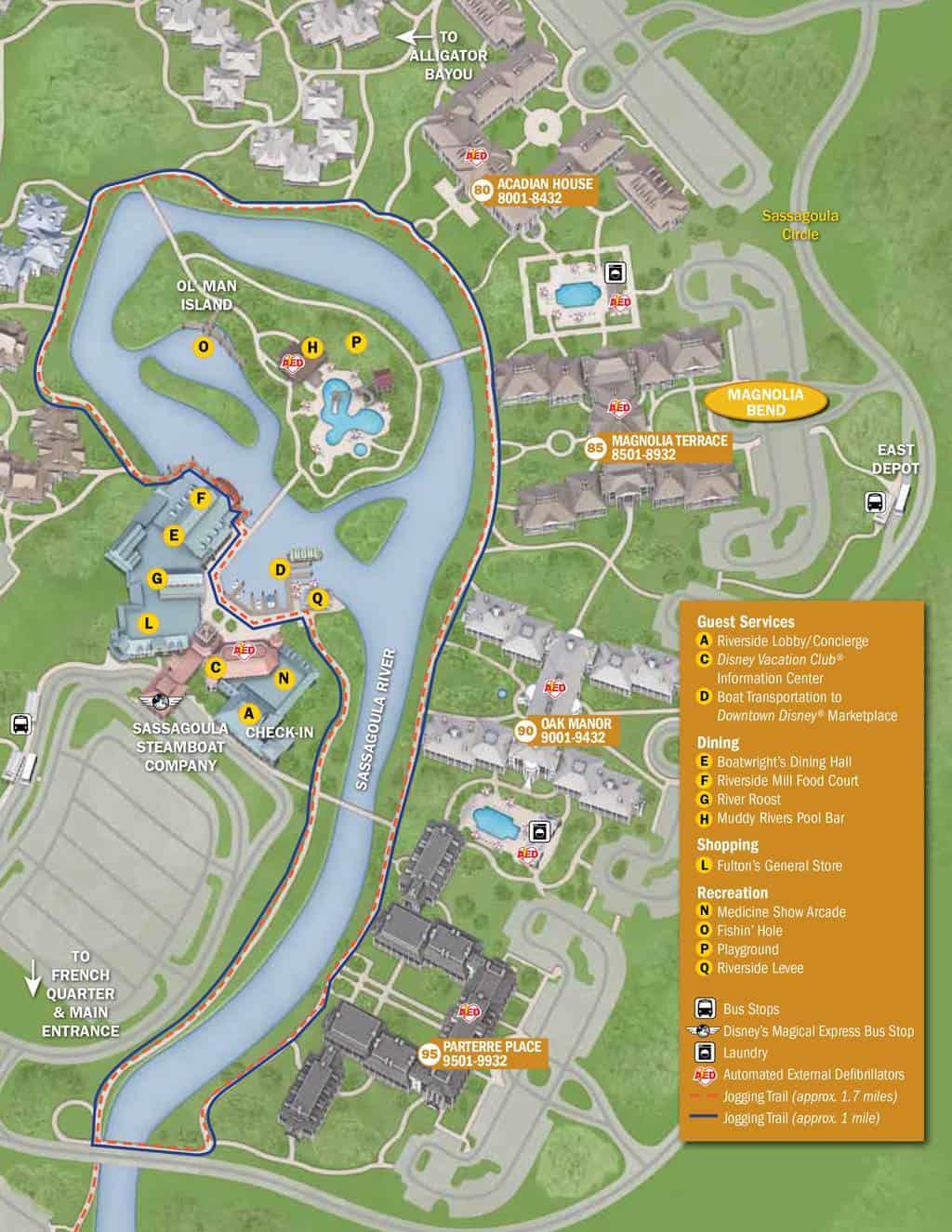 Port Orleans French Quarter Resort Map KennythePiratecom