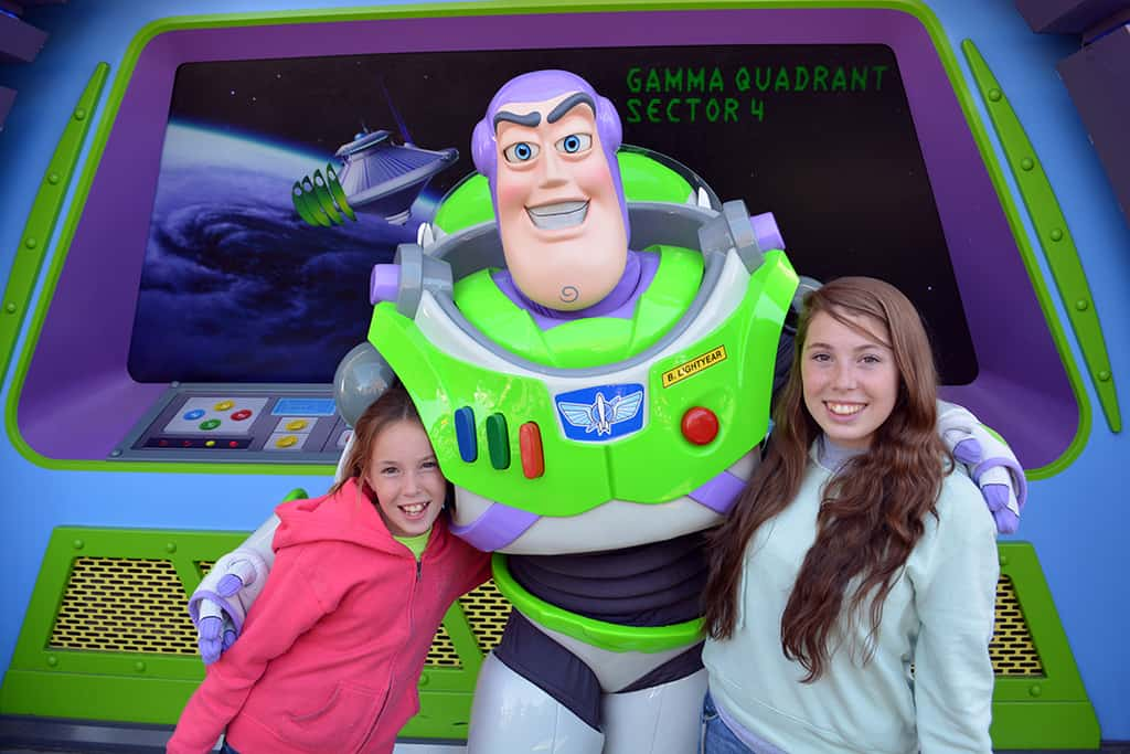Walt Disney World, Magic Kingdom, Character Meet and Greets, Buzz Lightyear