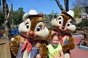 Walt Disney World, Magic Kingdom, Character Meet and Greets, Chip n Dale