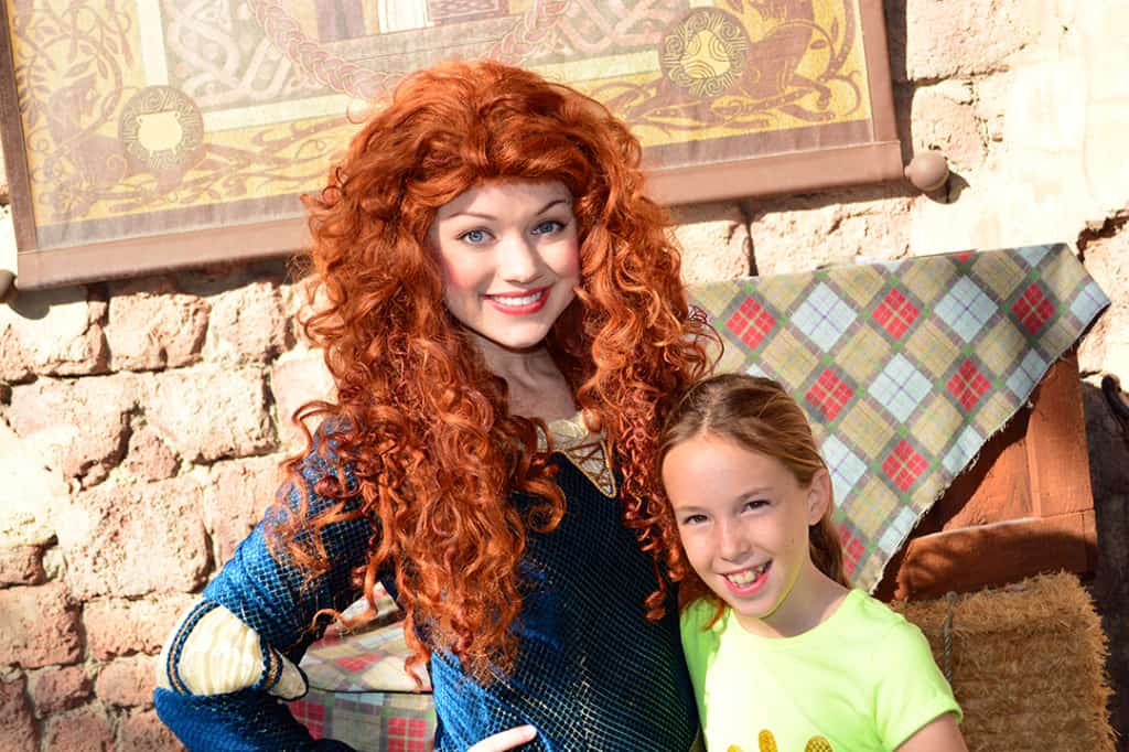 Walt Disney World, Magic Kingdom, Character Meet and Greets, Merida