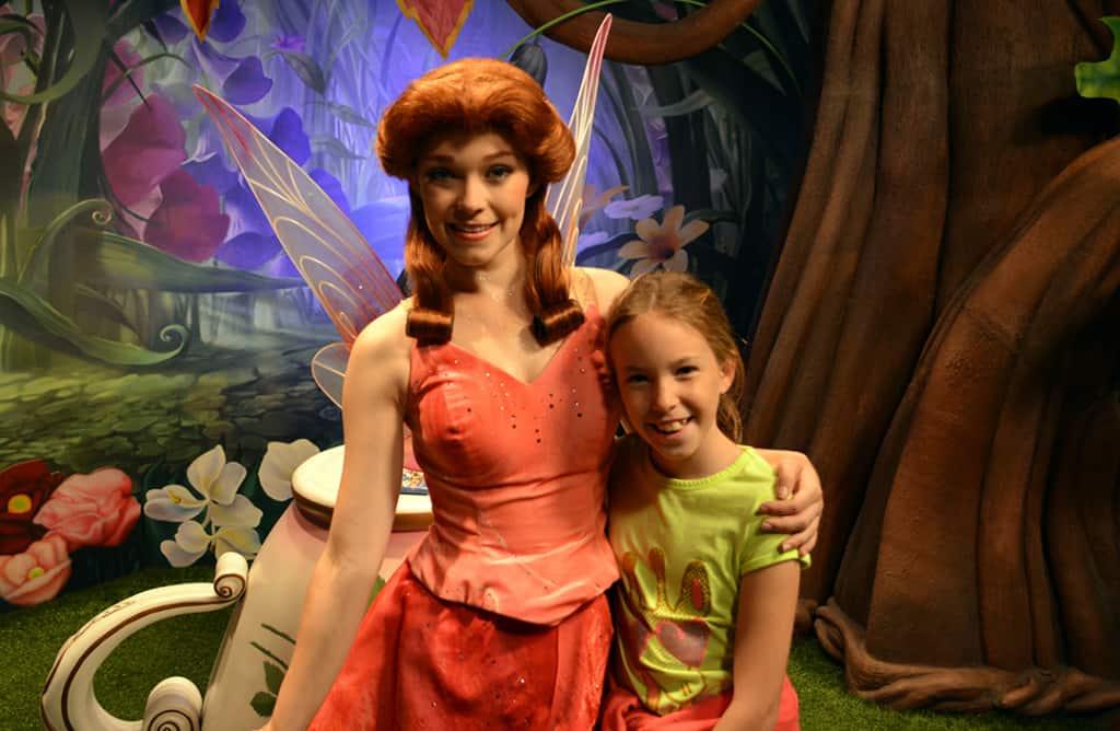 Rosetta at Magic Kingdom in Disney World