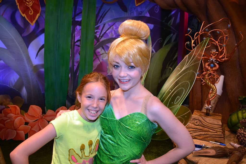 Tinker Bell at Magic Kingdom in Disney World