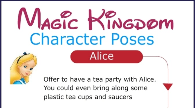 Magic Kingdom Character Photo Pose Ideas
