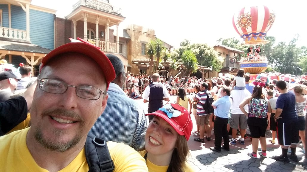 Festival of Fantasy parade final float  in Magic Kingdom