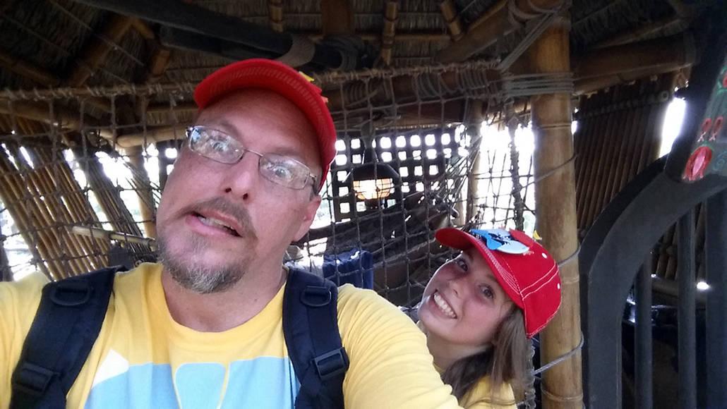 Swiss Family Treehouse in Magic Kingdom in Walt Disney World
