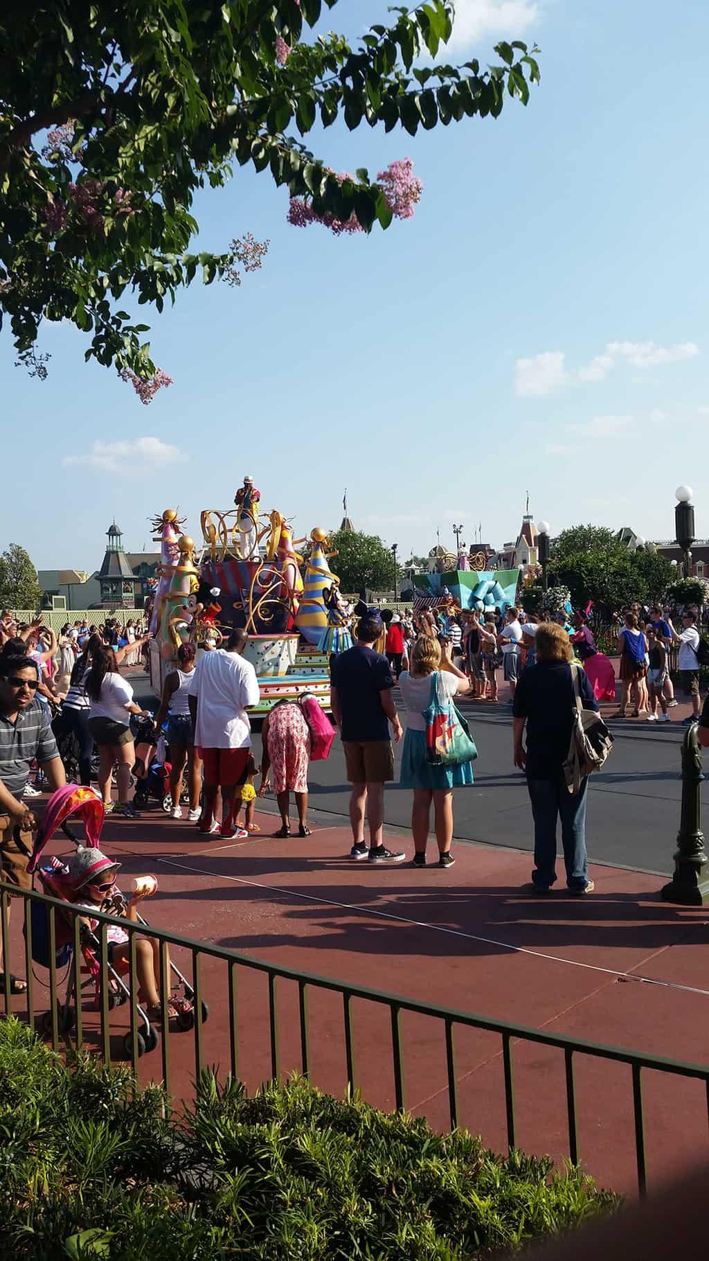 Move it Shake it Celebrate it in Magic Kingdom in Walt Disney World
