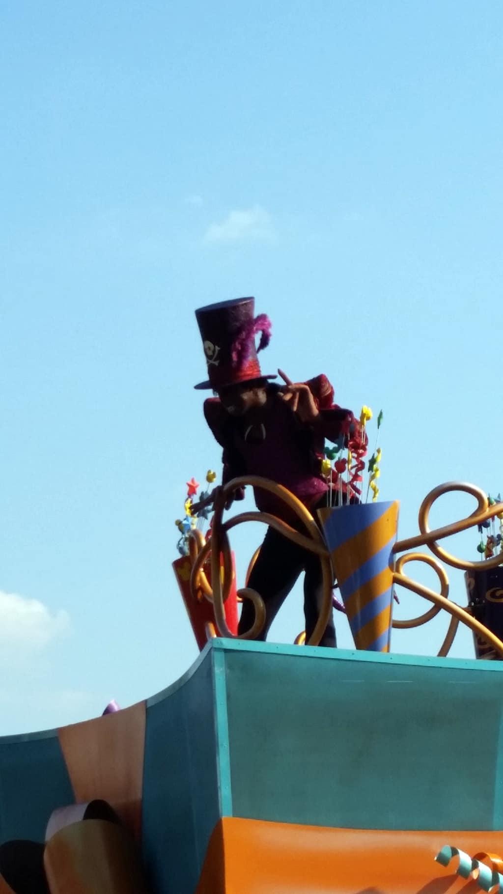 Move it Shake it Celebrate it with Dr. Facilier in Magic Kingdom in Walt Disney World