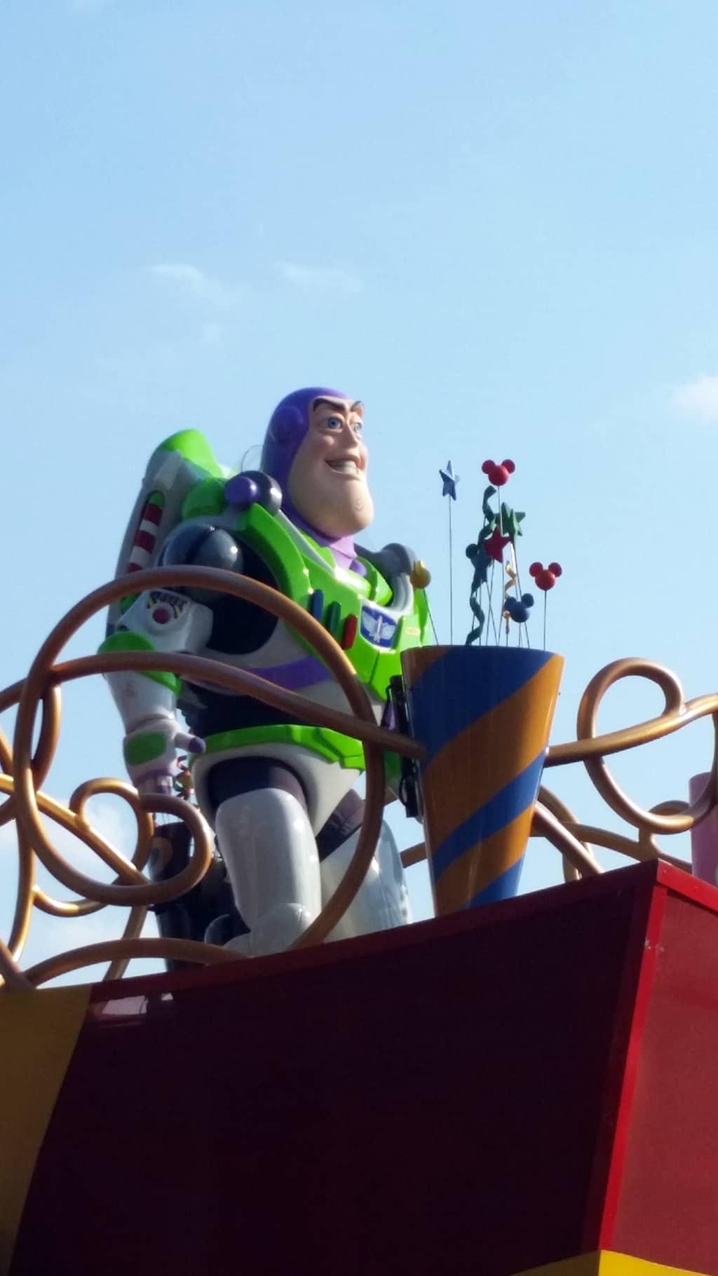 Move it Shake it Celebrate it with Buzz Lightyear  in Magic Kingdom in Walt Disney World