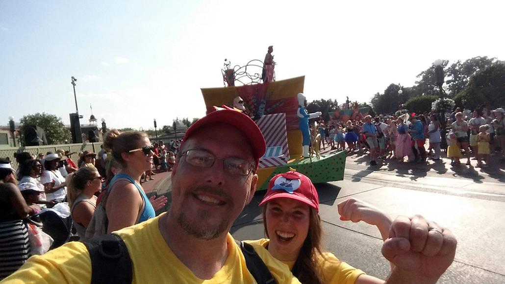 Move it Shake it Celebrate it Street Party in Magic Kingdom in Walt Disney World