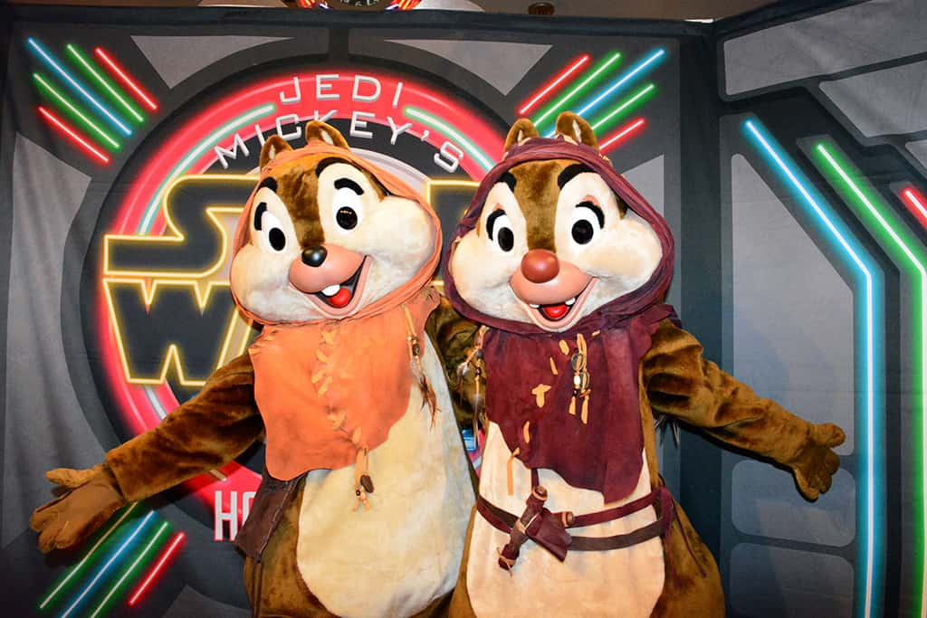 Meeting Chip and Dale at