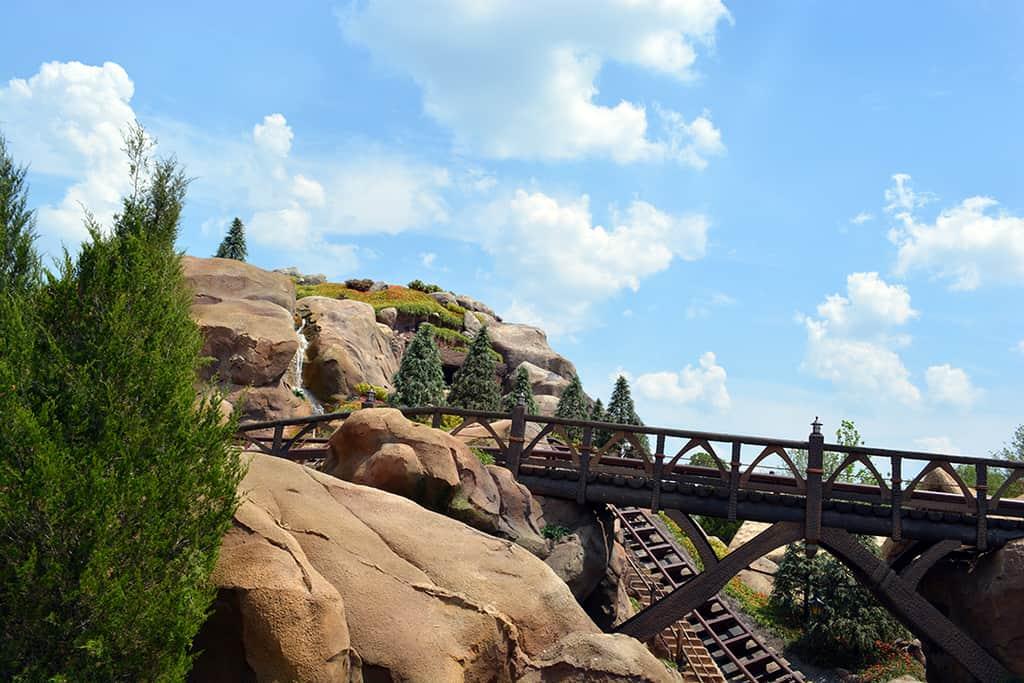 Seven Dwarfs Mine Train Exterior