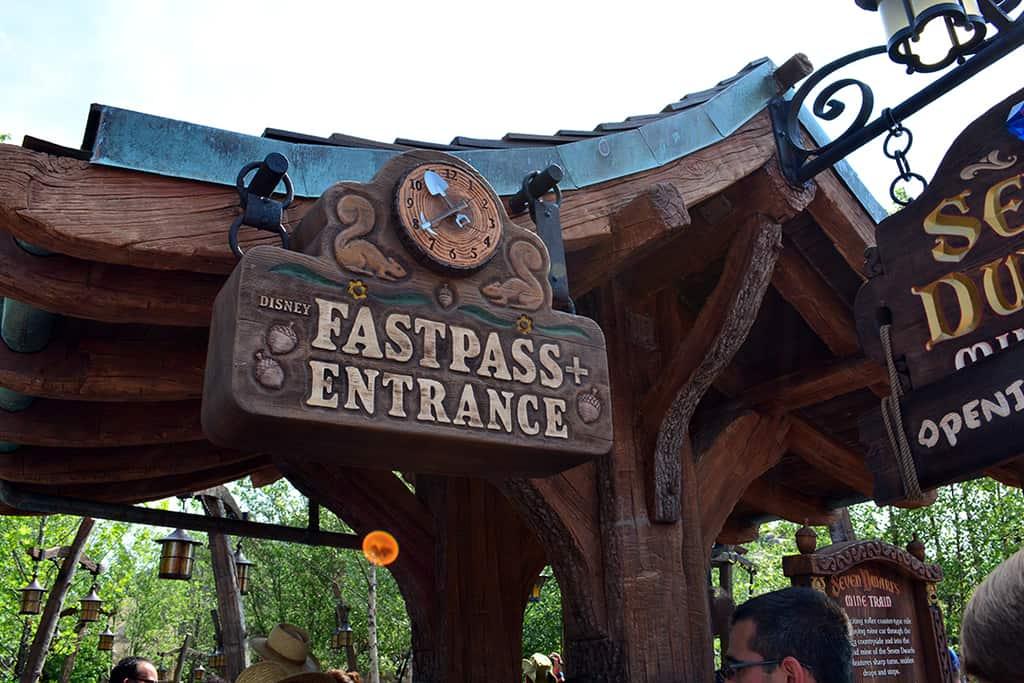 Seven Dwarfs Mine Train Fastpass+