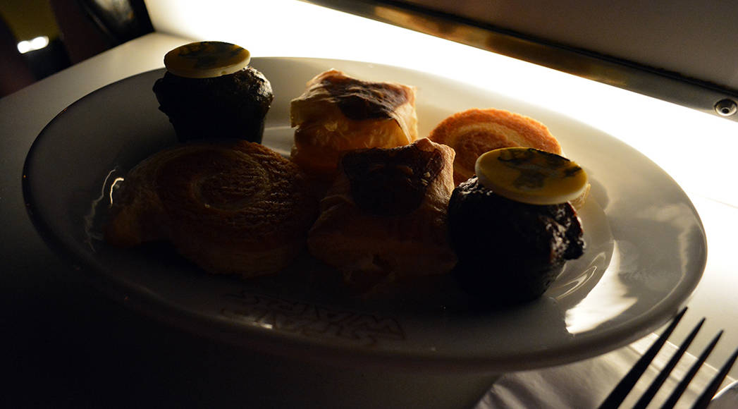 Pastries at Star Wars Galactic Dine-in Character Breakfast at Hollywood Studios