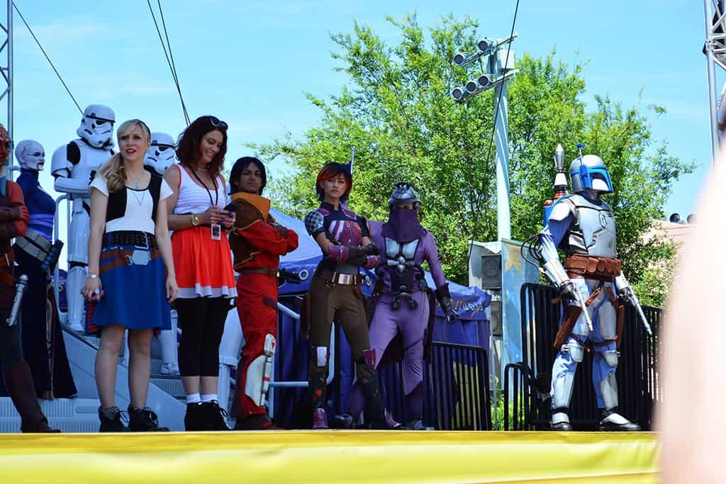Star Wars Weekends Celebrity Motorcade Feel the Force Premium Package (3)