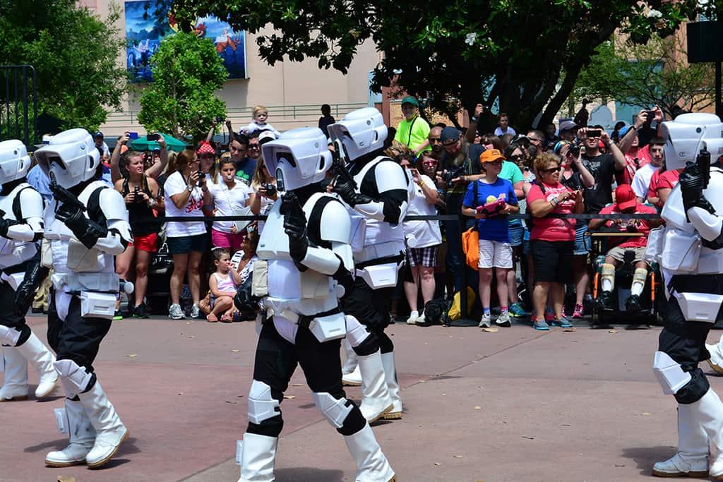 Star Wars Weekends Celebrity Motorcade Feel the Force Premium Package (42)