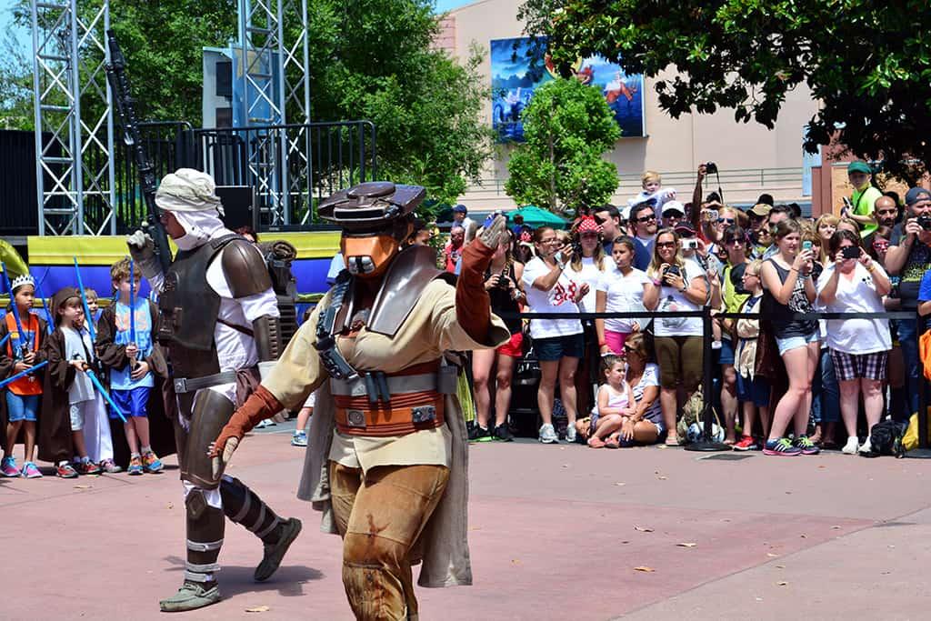 Star Wars Weekends Celebrity Motorcade Feel the Force Premium Package (43)