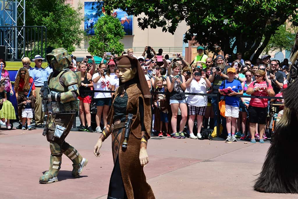 Star Wars Weekends Celebrity Motorcade Feel the Force Premium Package (53)