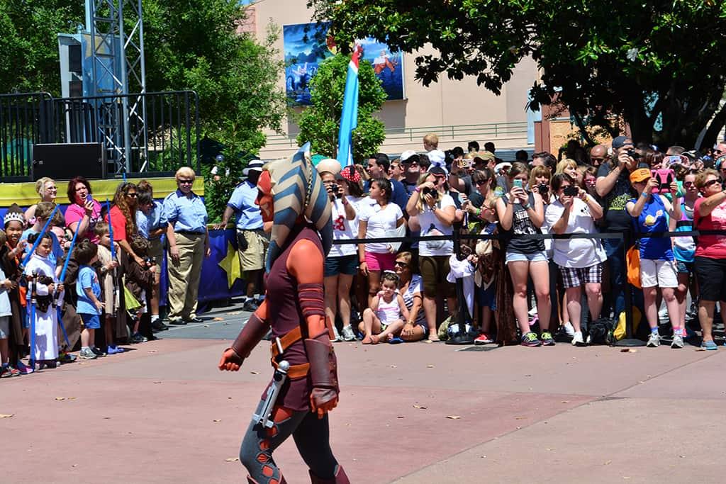 Star Wars Weekends Celebrity Motorcade Feel the Force Premium Package (62)