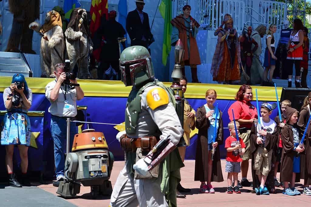 Star Wars Weekends Celebrity Motorcade Feel the Force Premium Package (83)