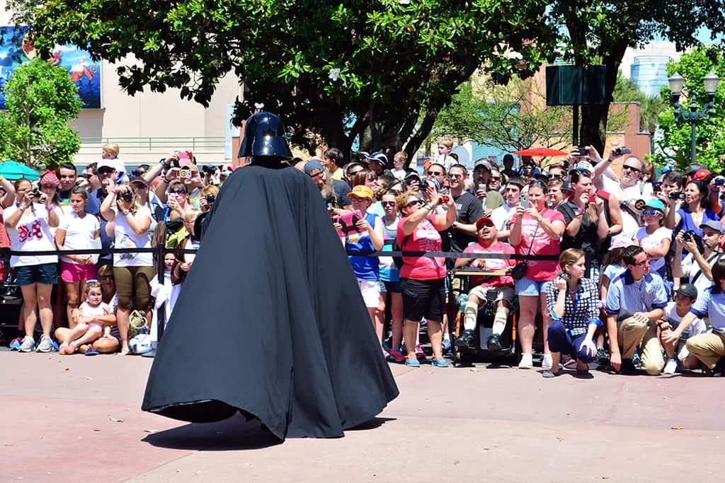 Star Wars Weekends Celebrity Motorcade Feel the Force Premium Package (85)