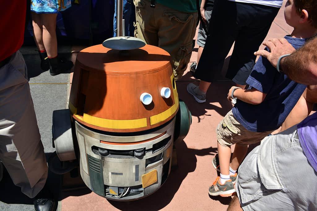 Star Wars Weekends Celebrity Motorcade Feel the Force Premium Package (88)