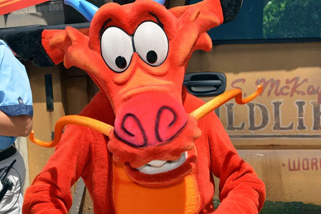 Mushu to appear at Disney California Adventure