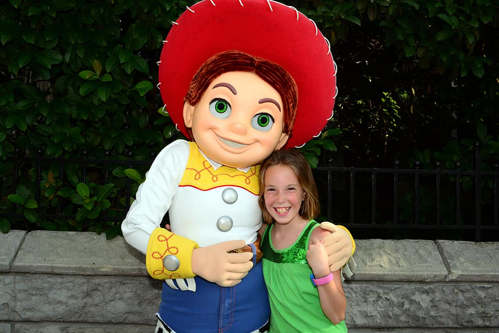 Jessie at Character Palooza at Hollywood Studios