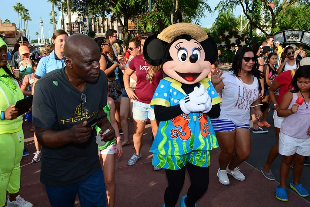 Minnie Mouse Rock your summer side dance party at Hollywood Studios June 2014