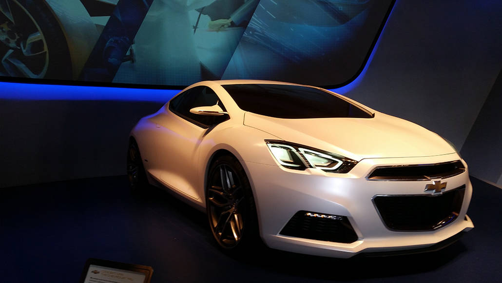 Concept car at Test Track at Epcot